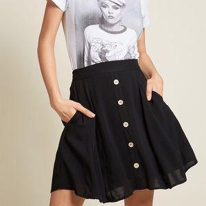 modcloth you sassy thing skater skirt